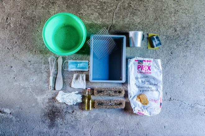 Material für Fussabstreifer und Türstopper