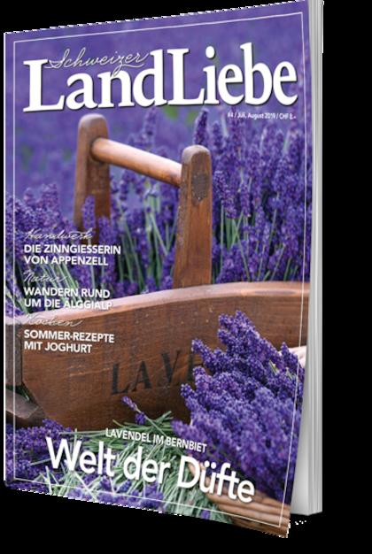 Cover Schweizer LandLiebe #4 Juli/August 2019