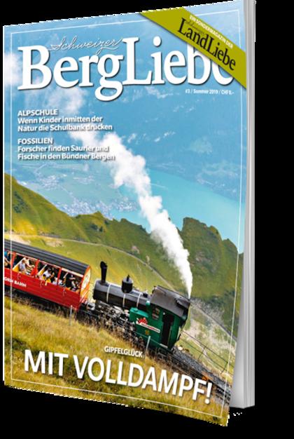Cover Schweizer BergLiebe #3 Sommer 2019