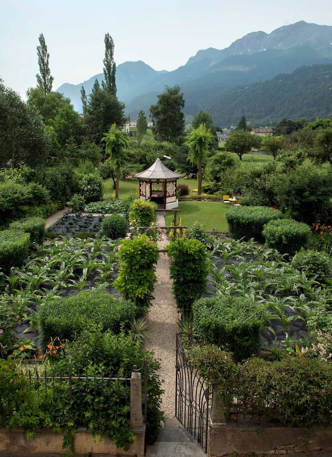 Devon House Gartensicht